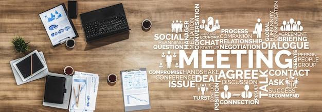 Бизнес коммерция финансы и маркетинг баннер фон