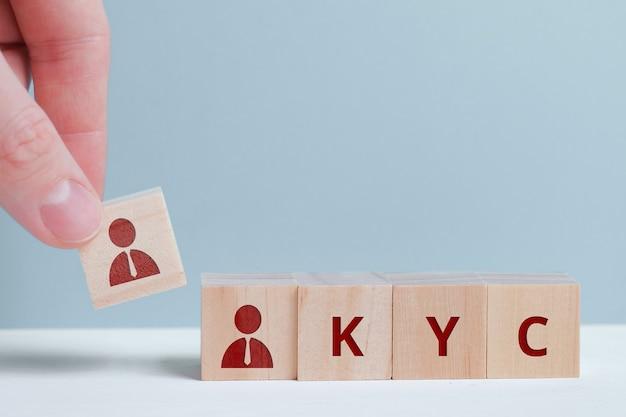 Бизнес-концепция и узнайте своего клиента с абстрактными персонажами.