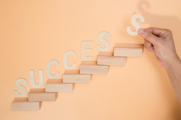Бизнес-концепция для роста успеха процесса.