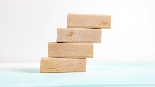 Business concept for growth success process. stairs up as a symbol of career growth up or business success.