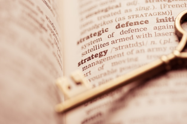 Ключ бизнес-концепции для стратегии