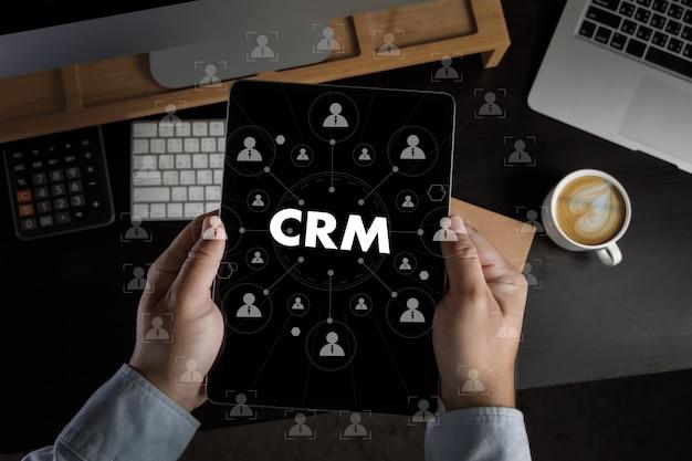 ビジネス顧客crm管理分析サービスコンセプト管理