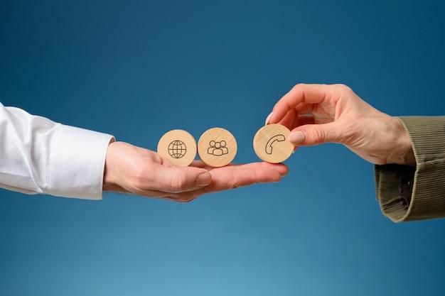 Обслуживание и поддержка бизнес-клиентов