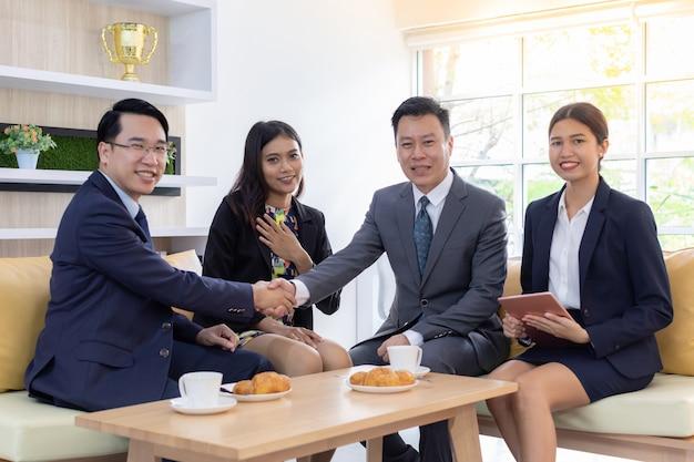 Business deal mergers