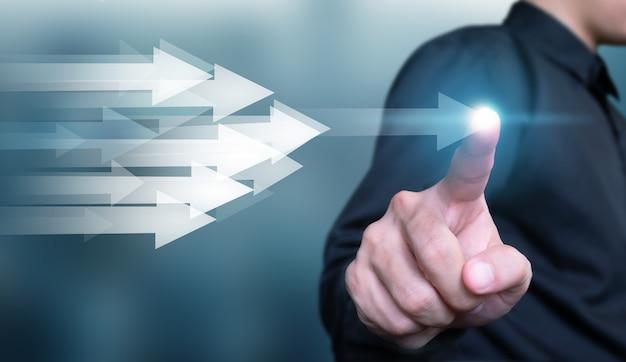 成功への事業開発と急成長する事業コンセプト