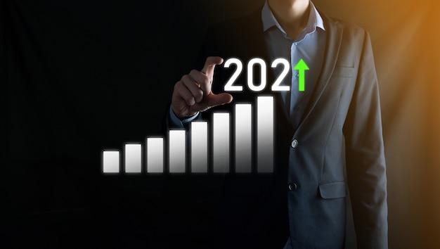 成功への事業開発と成長する成長2021年のコンセプト