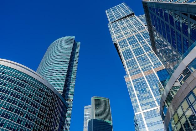 Деловой район города москвы