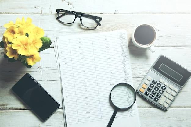 Business finance tax work