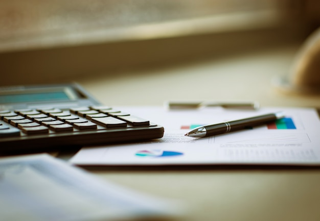 Business of financial analysis of workplace