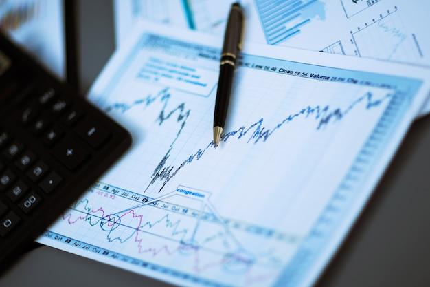 Отчет об анализе бизнес-графиков. бухгалтерия