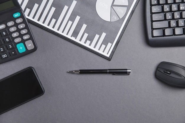 비즈니스 그래프 및 비즈니스 개체. 회계