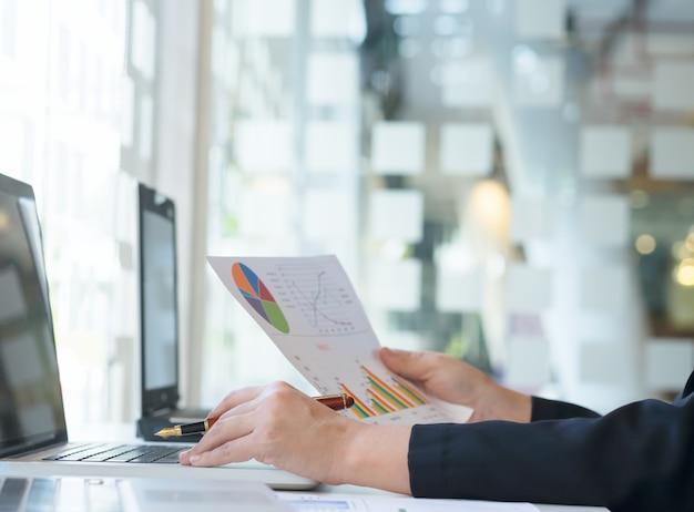 ビジネスアイデアコピースペースの背景概念。
