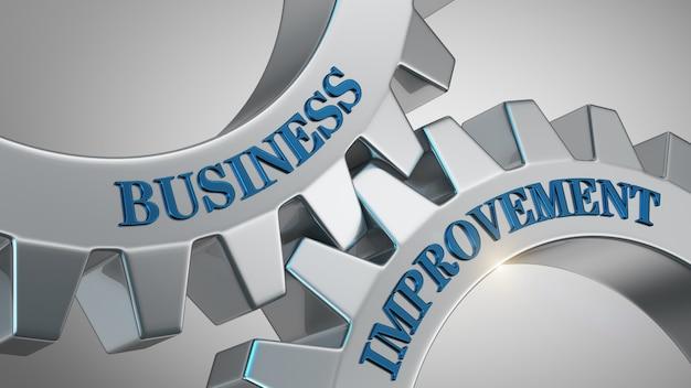 Business improvement background