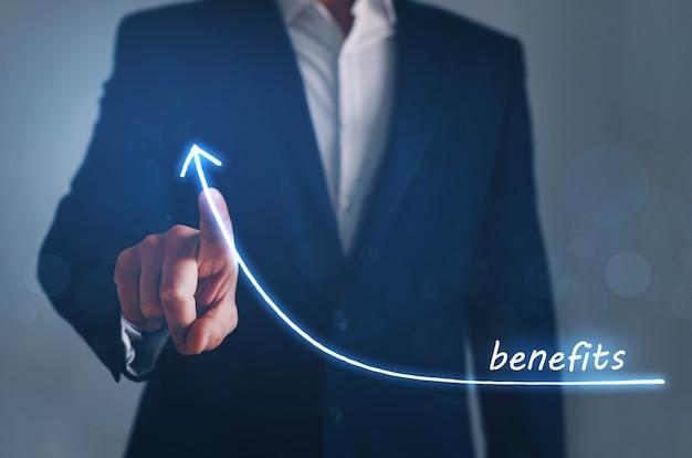 График роста бизнеса и преимущества