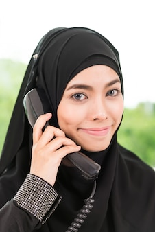 Business islam woman