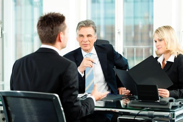 Business - job interview