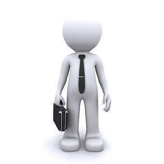 ビジネスの男性の概念