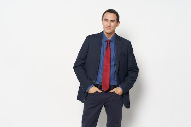 スーツマネージャーオフィスプロ起業家のビジネスマン