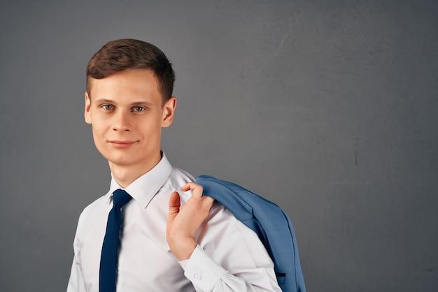 Деловой человек работа офис финансовый менеджер