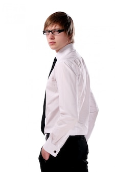 Business man young and attractive