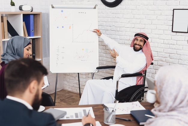 Office data analysisチームワークでのビジネス会議