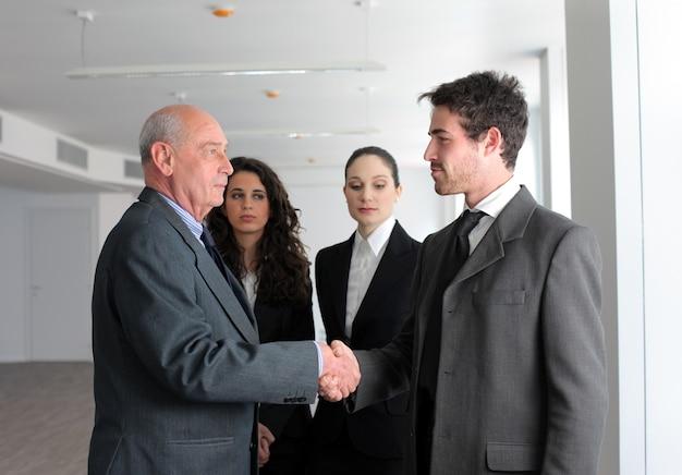 비즈니스-사무실에서 회의