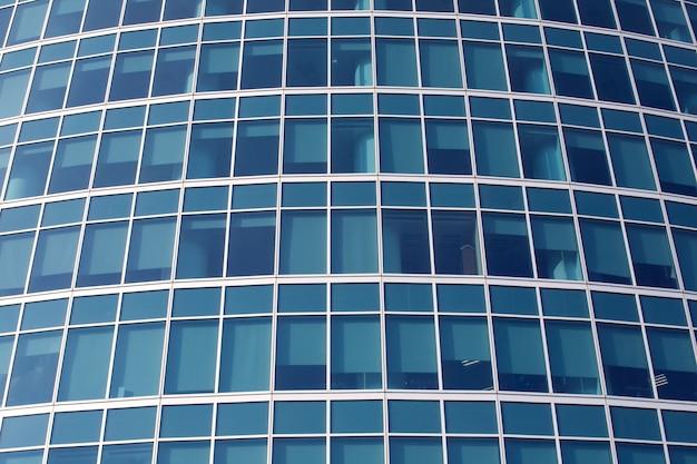 Бизнес современные стеклянные здания фон