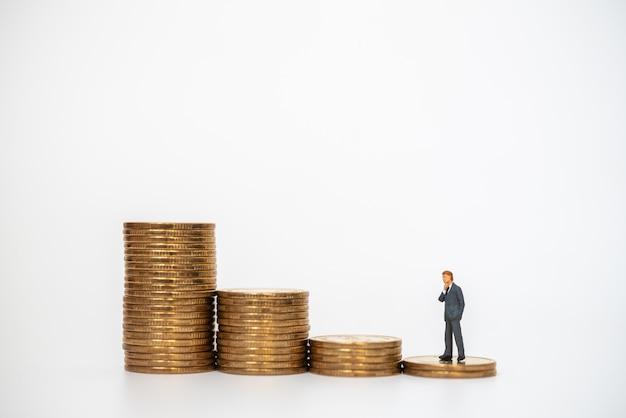 비즈니스, 돈 투자 및 계획 개념