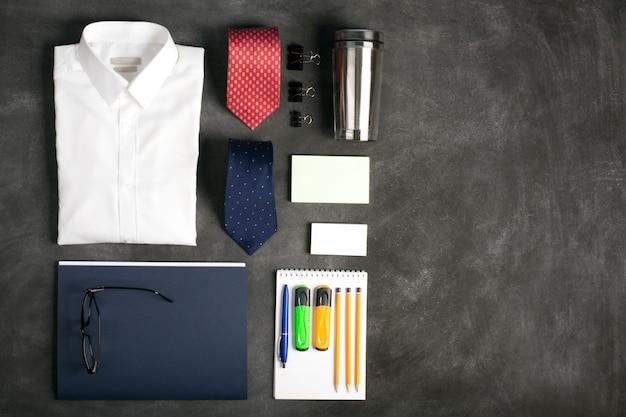 책상, 평면도에 비즈니스 개체