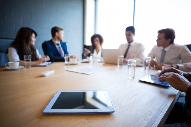 Business people in conference room during a meeting in office