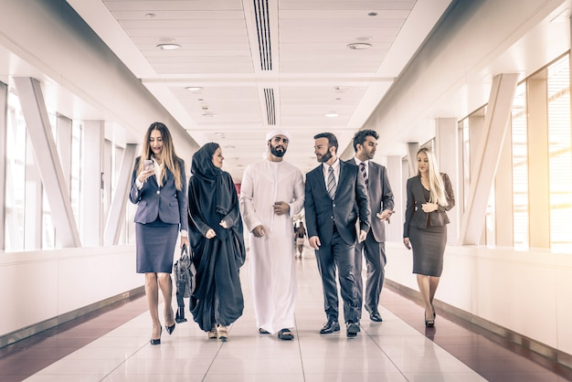Business people in dubai