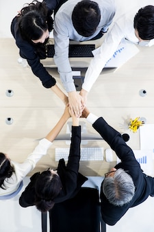 Business people teamwork in office.