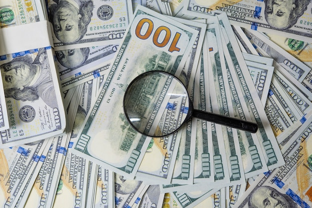 Business plan on financial income, dollar and business diagrams on financial reports with