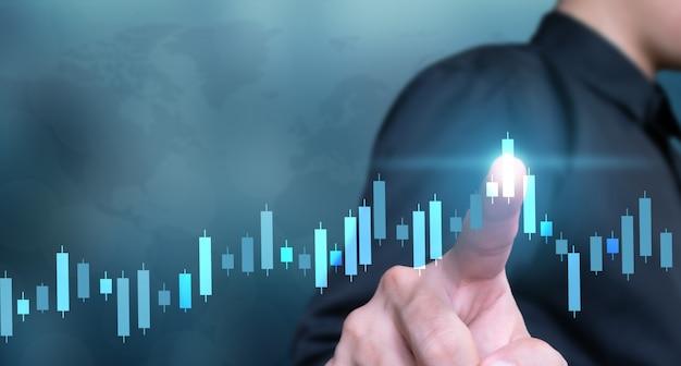 事業計画グローバルグラフとチャートのプラスの方法