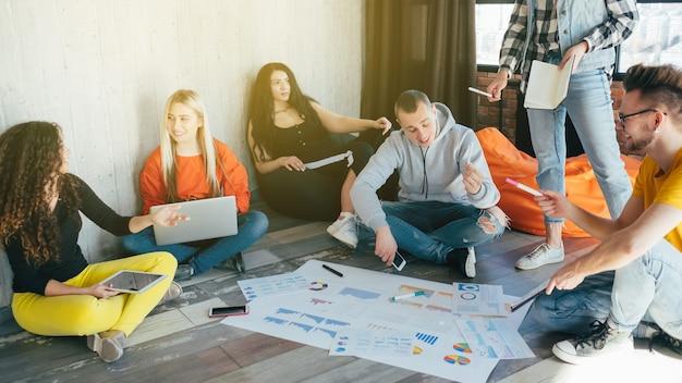 Документы бизнес-проекта. тысячелетний деловой стиль работы