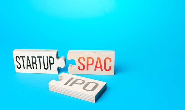 Business startup to the stock exchange through a simplified listing procedure spac