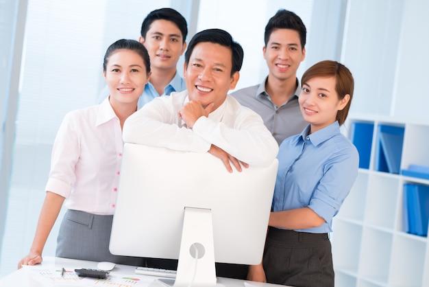 Бизнес-команда и ее лидер