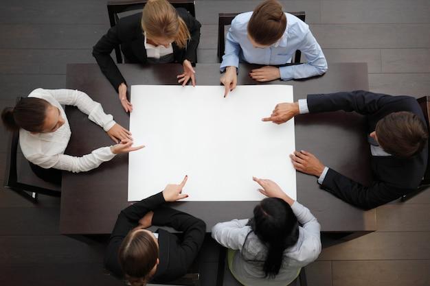 Планирование бизнес-команды на встрече