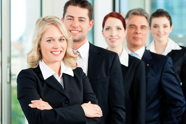 Business - team of professionals in office