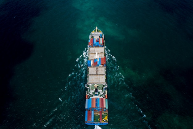 Business transportation shipping cargo containers oceans fright