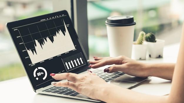 創造的なコンピュータソフトウェアによるビジネスビジュアルデータ分析技術