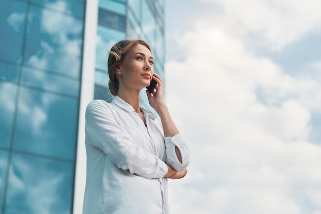 Business woman successful woman business person outdoor