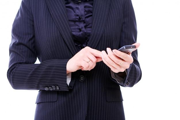 핸드폰 사업 여자