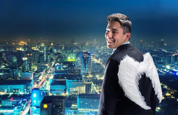 ビジネスマン-天使