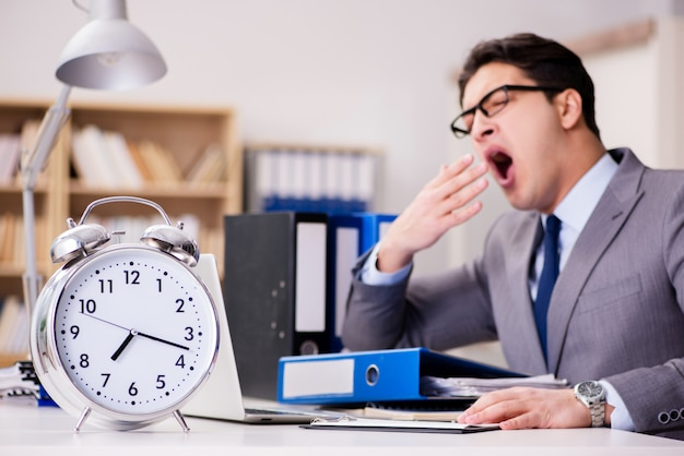 Businessman failing to meet the deadlines