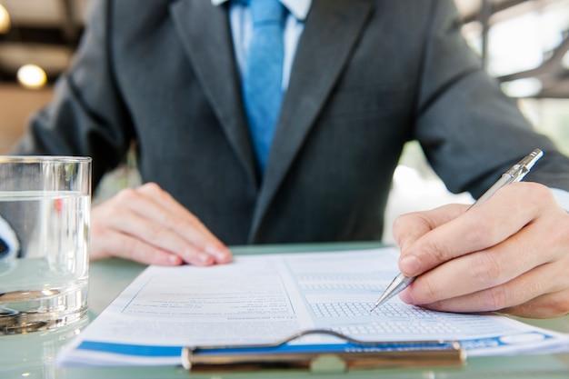 Концепция договора с бизнесменом