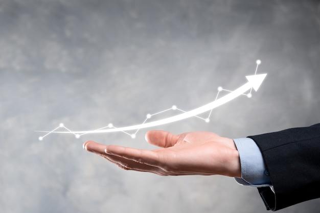 사업 성장 그래프 화면에 그리기 개최