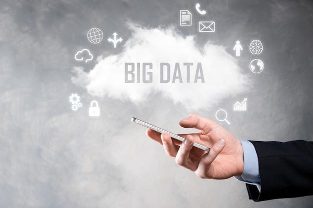 사업가 비문, 단어 big data를 보유하고 있습니다.