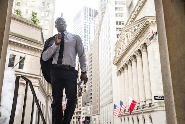 ウォール街のビジネスマン
