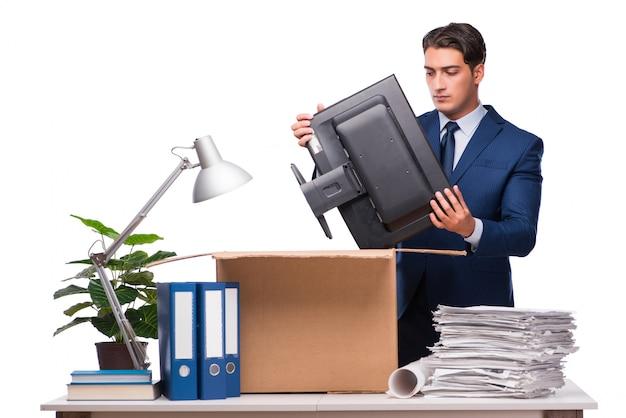 Businessman made redundant fired after dismissal